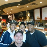 Morning cafe crew at Lifetime Fitness