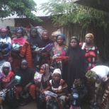 International Rescue Committee photo: Distribution for women