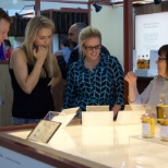 Some of our London employees learning about the blending process