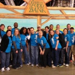 North Texas Food Bank volunteer event