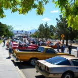 Car Show in Kingman!  Events like this are very common.