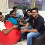 Tech Mahindra photo: During a Stress Break