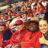 ProCare One photo: ProCare One team at the Angel's game!