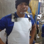 During my training as Slaughtering Operation for my accreditation and certification.
