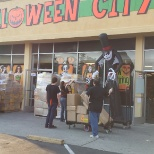Halloween City photo: Delivery