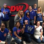 CDW photo: CDW Chicagoland offices flying the W!