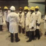 under ground practical inspection lecture on mine ventilation