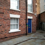 Located in a courtyard at the rear of Fishergate House