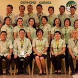DOH-RO XIII-Manage and Support Division Staff with the MANCOM