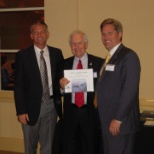 Jim Freeman is recognized for his work with National Write Your Congressman.