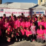 Real Men Wear Pink Cancer Walk Thanks to the Rooms To Go Foundation!