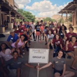 Texas State University photo: Can't help but smile when you love your job this much! :) #NSO #OrientationLeader #lovewhatyoudo