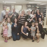 Hendersonville Medical Center photo: The results of the Pharmaceutical Olympics!