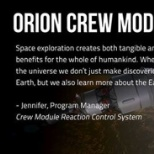 Aerojet Rocketdyne Orion Team Member