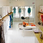 interior of hamptons boutique