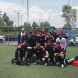 Our colleagues in Mexico City took part in a soccer tournament for healthcare professional
