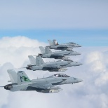 4 of our 5 jets, that i helped maintain