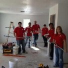 Employees from St. Charles Operations volunteering at Habitat for Humanity
