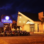 The front view of Teletech Dumaguete's Office.