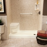 We specialize in replacement baths, showers and walk-in tubs.
