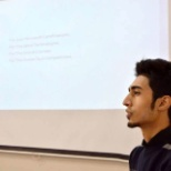 while speaking at Cloud Computing with Azure at Comsats, Lahore.