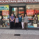 photo of Mountain Warehouse, Our latest addition to the MW family...opened today, the 344th store!