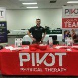 Pivot Physical Therapy photo: Stop by our booth this October at the Physical Therapy National Student  #APTANSC.