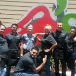 Chili's photo: chilis morning shift before I moved back to MD