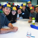 Google photo: Nooglers during orientation at HQ