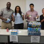 Enaxis Consulting photo: Assembling care packages for SEARCH Homeless