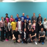 WWF CN Tower Climb, Corporate Event, May 1, 2014