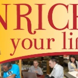 Queens Library photo: Enrich your life logo