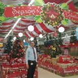 Carrefour photo: my christmas implementation