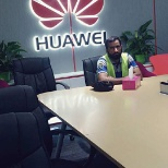 Attending huawei meeting and LTE addition  training in huawei muscat office