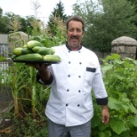 Chef Bobby Vegetable garden