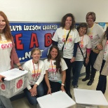 Associates give back to schools during maurices' annual Grand Give in Duluth, MN.