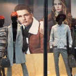 River Island photo: Autumn windows at Park House