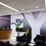 EY photo: A conference floor in an EY building