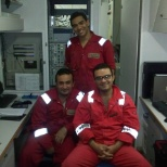 Mud logging unit in Rig gulf-3, Doha