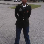 The soldier in me. Loving my dress blues