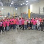 Latham supports breast cancer awareness!