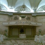 Westin Hotel wedding set up