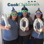 The Trophy Club Pediatrics office celebrates Cook Children's 100th Birthday!