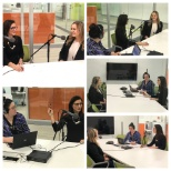 Celebrating Women's History Month by featuring DN's female driven podcast #girlpower #empowerment