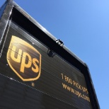 UPS photo: Package here