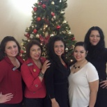 Celebrating the Holidays with the Mary Kay girls!