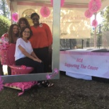 Trident Medical Center photo: Getting ready for our breast cancer survivor's event