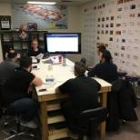 Herman's Supply Company photo: Training at the Customer Care Centre.
