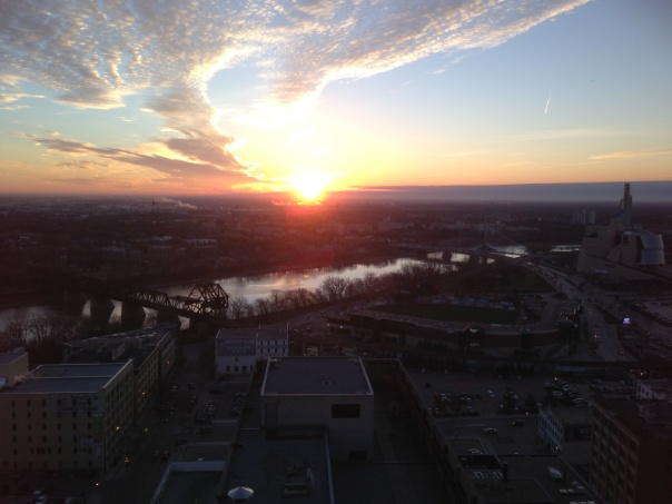 Good morning Winnipeg!!