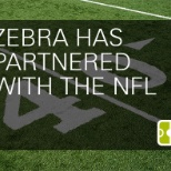 Zebra has partnered with the NFL